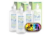 Sonderpaket Linsenpflege Biotrue All-in-one Lösung 3x300ml +  gratis Designaufbewahrungsbehälter