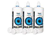 Smart Eyecare-Kombilösung Günstig Kontaktlinsen Pflege 3x360ml