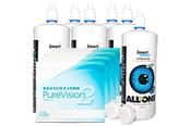 Pure Vision Sparpaket 4x6er Monatskontaktlinsen