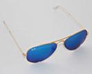 small, Sonnenbrille Aviator von Ray-Ban ist wohl die bekannteste Pilotenbrille von Ray-Ban; klassisch, zeitlos schön