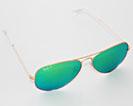 Sonnenbrille Aviator von RayBan ist wohl die bekannteste Pilotenbrille von Ray-Ban; klassisch, zeitlos schön
