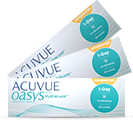Acuvue Oasys 1-day for Astigmatism Tageslinsen von Johnson & Johnson