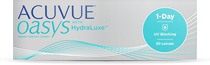 Acuvue Oasys 1-day 30er Silikon-Hydrgel mit HydraLuxe Technologie