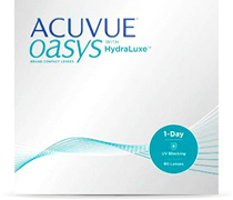 Acuvue Oasys 1-day 90er Silikon-Hydrgel mit HydraLuxe Technologie