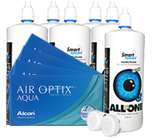 AirOptix aqua Kontaktlinsen im Set besonders günstig