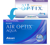 AIR OPTIX AQUA Multifocal Kontaktlinsen 3er