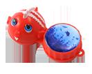 Aufbewahrungsbehälter für Kontaktlinsen mit Motiv Fisch