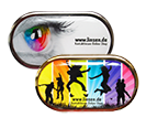 Kontaktlinsenbehälter stylisches Design