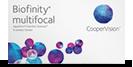 Biofinity Multifocal multifokal linsen
