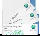 BioMedics 1Day Toric torische Tages-Kontaktlinsen