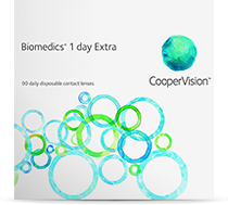 Biomedics 1Day Extra-Tageslinsen