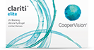 Clariti Elite Monats-Kontaktlinsen, Silikon-Hydrogel