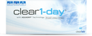 Clear 1-day tages-kontaktlinsen