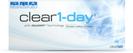 Clear 1-day tages-kontaktlinsen