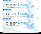 Clear 1-day 90er Tageskontaktlinsen