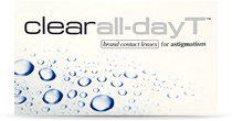 Clear all-day T (toric) torische Monats-Kontaktlinsen