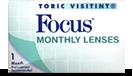 Focus Toric torische Kontaktlinsen, weiche Linsen