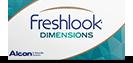 FreshLook Dimensions farbige Linsen, Farbkontaktlinsen