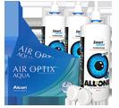 AirOptix aqua Kontaktlinsen + Pflege | Halbjahrespaket