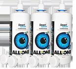 Smart Eyecare-Kombilösung Kontaktlinsen Pflege 3x360ml