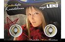 Magic Lens farbige Kontaktlinsen, extrem Augenveränderung