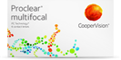 Proclear Multifocal Nah- u. Fernsicht Kontaktlinsen bei Alterssichtigkeit