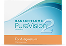 PureVision 2 HD For Astigmatism torische Linsen