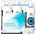 PureVision 2 HD Kontaktlinsen im Set besonders günstig
