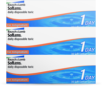 SofLens daily disposable for Astigmatism Tageslinsen torisch